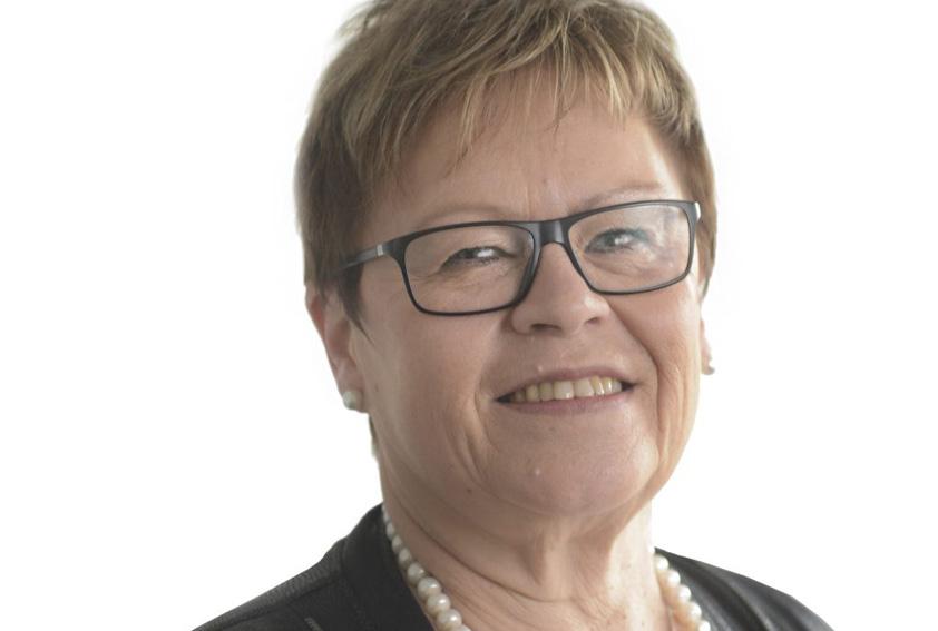 Elvy Söderström, ordförande Botniska korridoren